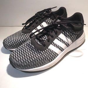Adidas Neon Cloudfoam Race Men's Size 7 Gray White